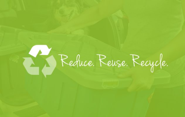 ECOstorage Reduce Reuse Recycle